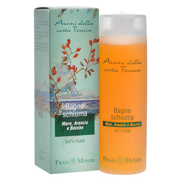 Frais Monde Гель для душа - Пена для ванны, с ароматом моря, апельсиного дерева и ягод, 200 мл