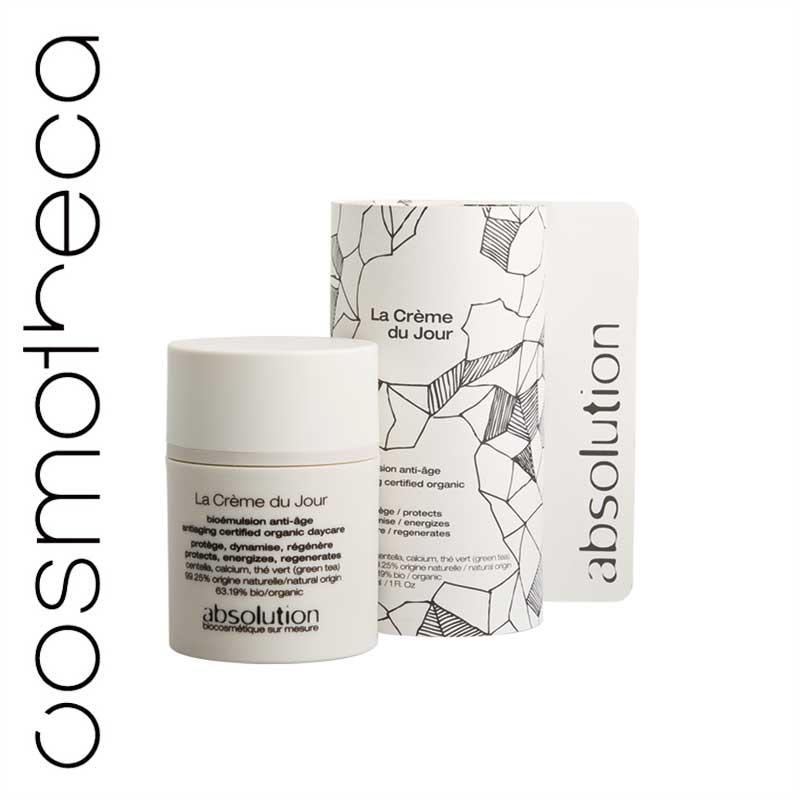 Absolution Крем для лица, антивозрастной, дневной, 30 млABS0001Дневной крем для лица Absolution борется со старением кожи. Зеленый чай, богатый антиоксидантами, защищает кожу, устраняет дефицит коллагена и эластина. Кальций улучшает клеточный обмен. Центелла регенерирует кожу, а также используется в аюрведической медицине для стимуляции синтеза коллагена.