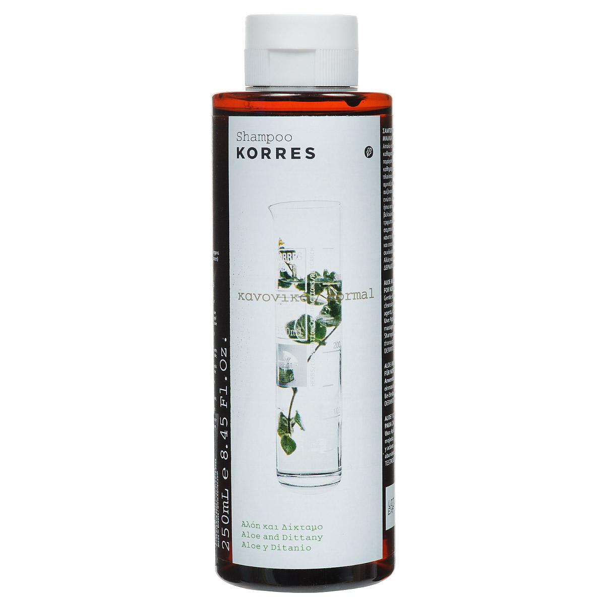 Korres Шампунь для нормальных волос, с алоэ и диким бадьяном, 250 мл5203069040689Шампунь Korres предназначен для нормальных волос, содержит алоэ и дикий бадьян. Шампунь с мягкими моющими и кондиционирующими компонентами идеально подходит для ежедневного применения. Алоэ, богатый протеинами и аминокислотами, увлажняет волосы и делает их более эластичными, а мягкое антисептическое действие дикого бадьяна восстанавливает баланс кожи головы. Характеристики: Объем: 250 мл. Производитель: Греция. Производство косметики Korres основывается на 4 фундаментальных принципах: Использование натуральных, высокоэффективных компонентов. Клинически проверенная эффективность без пустых обещаний. Чувственное наслаждение. Разумные цены для ежедневного ухода. Используются технологии и исследования в области охраны природы и совместимости с кожей. И в связи с этими усилиями удалось полностью исключить использование особых синтетических компонентов, таких как производные нефти (минеральные масла), силиконы...
