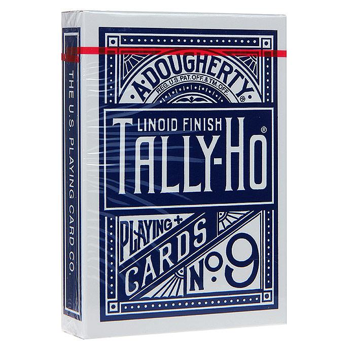Карты игральные Талли-Хо, цвет: синий, 54 шт. 9104с9104сИгральные карты Талли-Хо с рубашкой синего цвета подходят для игры в покер. Крупный индекс в двух углах. Карты имеют очень гладкую поверхность, высококачественный пластик и стандартный размер poker.