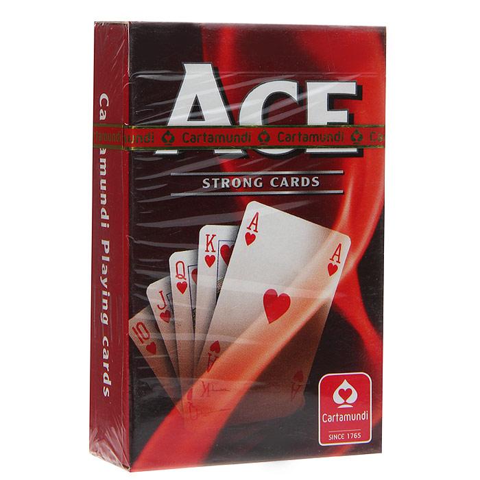 Карты игральные Cartamundi Тузы - Бридж (Standart index), цвет: красный, 54 карты. 107401124a107401124aИгральные карты Тузы - Бридж с рубашкой красного цвета подходят для игры в бридж. Крупный индекс в двух углах. Карты имеют очень гладкую поверхность, высококачественный пластик и стандартный размер Бридж.