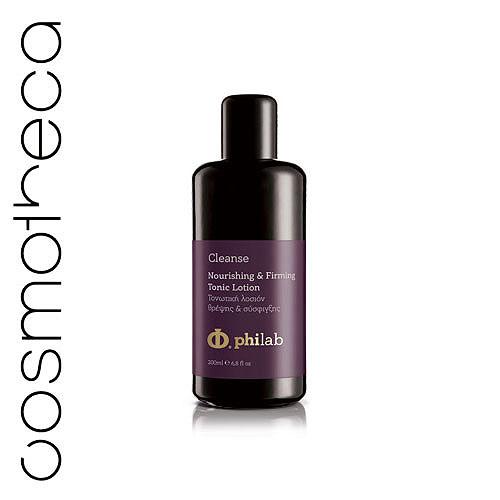 Philab Тоник для лица, питательный, укрепляющий, тонизирующий, 200 млPHL1102Питательный тоник Philab, в котором содержится 0,02% очищенной гиалуроновой кислоты с низким молекулярным весом, восстанавливает способность кожи сохранять влагу в клетках соединительной ткани. 1% дипептидов Syn Tacks восстанавливают упругость и улучшают тонус кожи, стимулируют протеины дермально-эпидермальных соединений. 3% SyriCalmTMCLR, алоэ вера оказывают сильное противовоспалительное действие и поддерживают жизнеспособность клеток кожи.