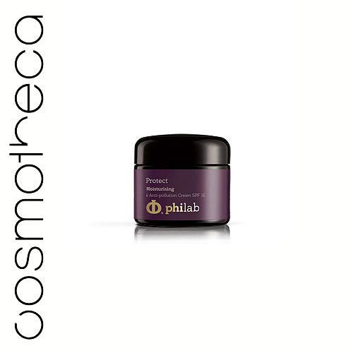 Philab Крем увлажняющий, с защитой от вредных внешних воздействий, SPF 15, 50 млPHL1201Крем Philab оказывает тройное увлажнение. Содержит гиалуроновую кислоту, ледниковую воду, гидрапорин, неомыляемое масло подсолнечника. Крем обеспечивает глубокое и долговременное увлажнение, укрепление защитного барьера кожи. Защищает клетки кожи от всех видов воздействия окружающей среды. Солнцезащитный фильтр SPF 15 обеспечивает защиту от UVA и UVB лучей. Улучшает и выравнивает цвета лица. Уменьшает пигментацию и выравнивает тон кожи.