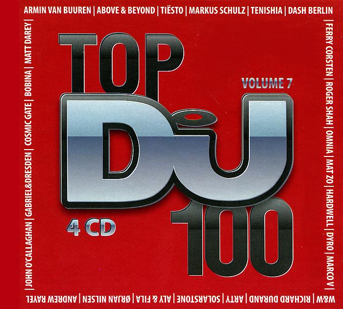 Top 100 DJs. Volume 7 (4 CD) 2014 4 Audio CD