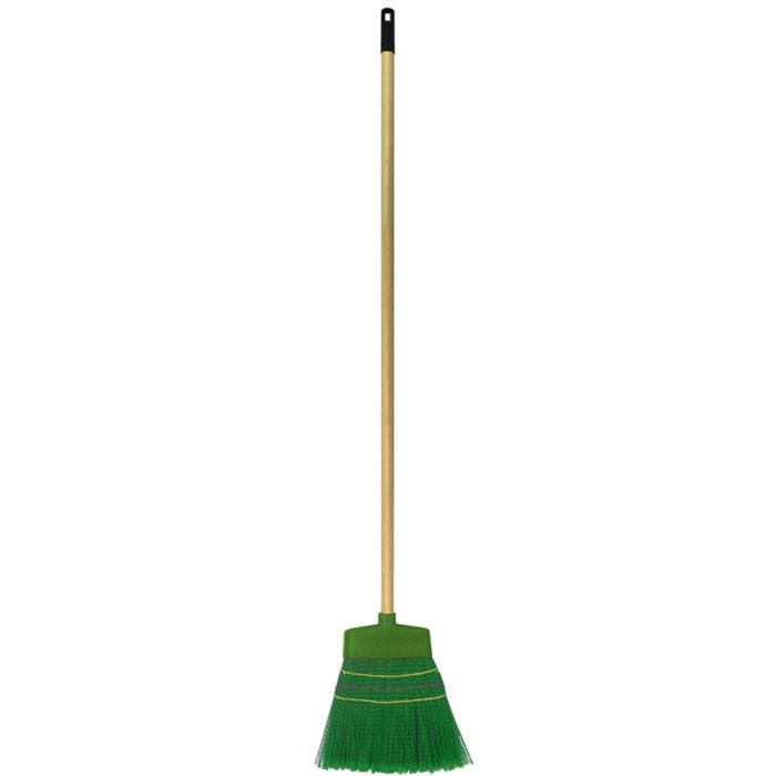 Метла Fratelli RE, с телескопической ручкой, цвет: зеленый, бежевый, 106-150 см11673-AМетла Fratelli RE - очень важный инструмент, предназначенный для уборки улиц, дворов, производственных помещений, садовых и дачных участков. Метла снабжена жестким ворсом и прочной ручкой с петелькой для подвешивания. Оригинальная, современная, удобная метла сделает уборку эффективнее и приятнее. Длина ручки: 106-150 см. Размер рабочей части метлы: 32 см х 30 см х 2 см.
