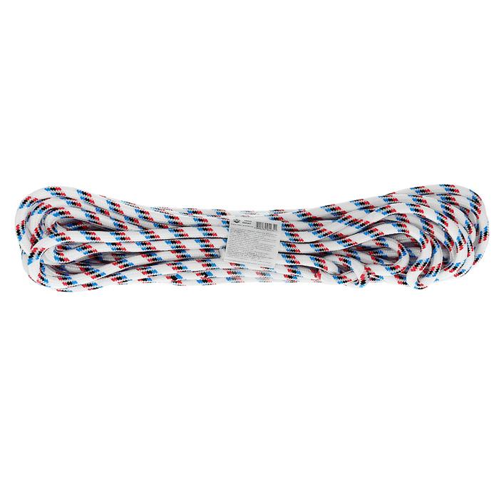 Канат полипропиленовый Калита, 10 мм х 20 м68403Канат полипропиленовый Калита плетеный 24-х прядный с сердечником. Используется для хозяйственных нужд.