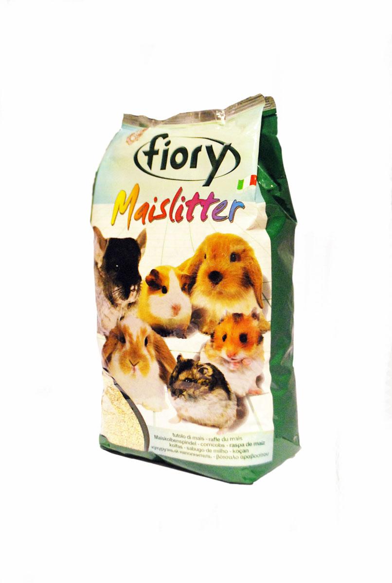 Кукурузный наполнитель для грызунов Fiory