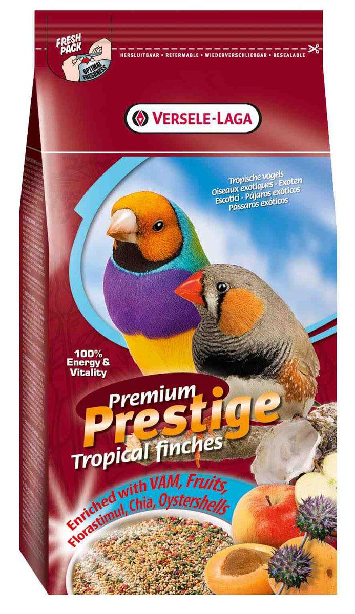 Корм для экзотических птиц Versele-Laga Tropical Finches Premium, 1 кг421538Полнорационная смесь Versele-Laga Tropical Finches Premium для всех видов тропических птиц. Данная зерновая смесь сбалансирована и разнообразная по составу. Смесь дополнительно обогащена витаминами и минералами, что делает ее незаменимой для ежедневного кормления птиц. Состав: желтое просо паникум 48%, желтое просо 33%, канареечное семя 8,5%, красное просо паникум 6%, красное просо 3%, масличный нуг 1,5 %. Вес: 1 кг. Товар сертифицирован.