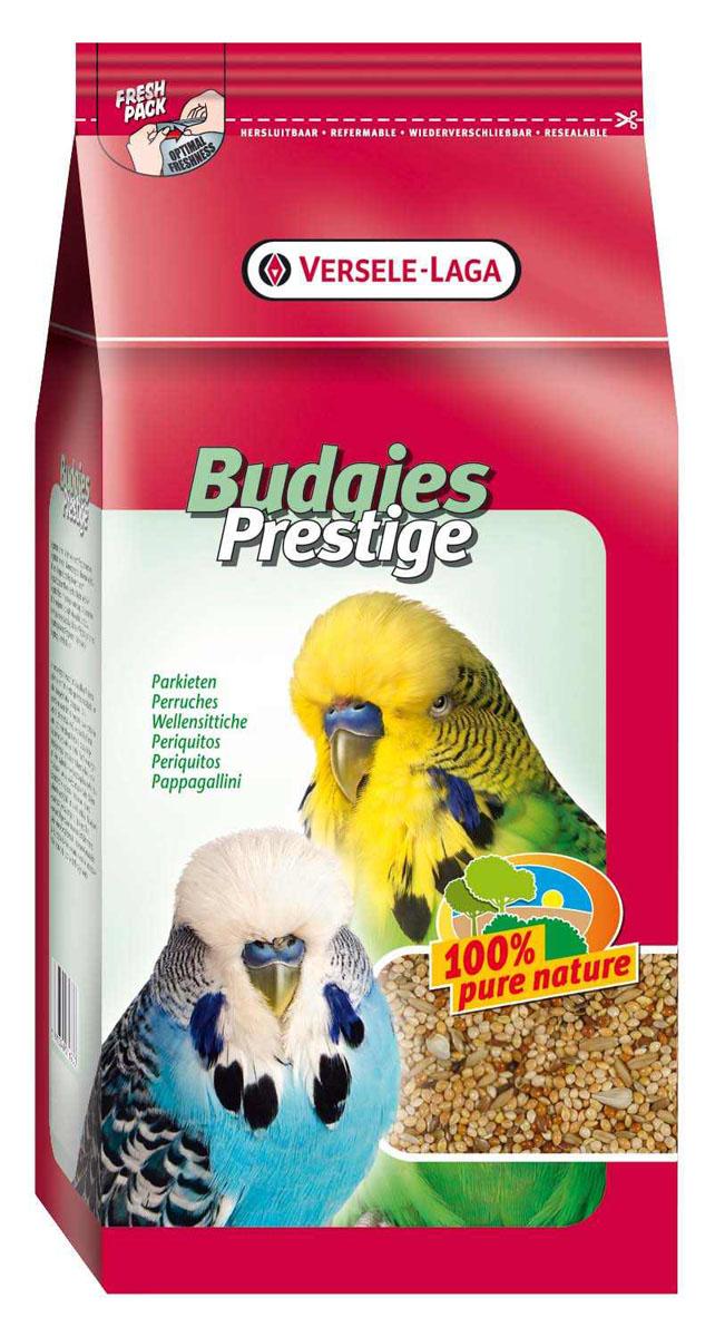 Корм для волнистых попугаев Versele-Laga Prestige Budgies, 1 кг421620Корм Versele-Laga Prestige Budgies - это традиционная полнорационная смесь для волнистых попугаев, а также других мелких попугаев. В состав данной высококачественной смеси входят разнообразные сбалансированные компоненты, особым образом подобранные в соответствии со специфическими пищевыми потребностями попугаев. Корм содержит просо, канареечное семя, очищенный овес, семена льна, сафлор для оптимальной кондиции и пищеварения. Состав: просо желтое 52%, просо красное 16%, просо белое 12%, канареечное семя - 5%, очищенный овес - 9%, семена льна - 3%, сафлор - 2,5%, масличный нуг - 0,5%. Вес: 1 кг. Товар сертифицирован.