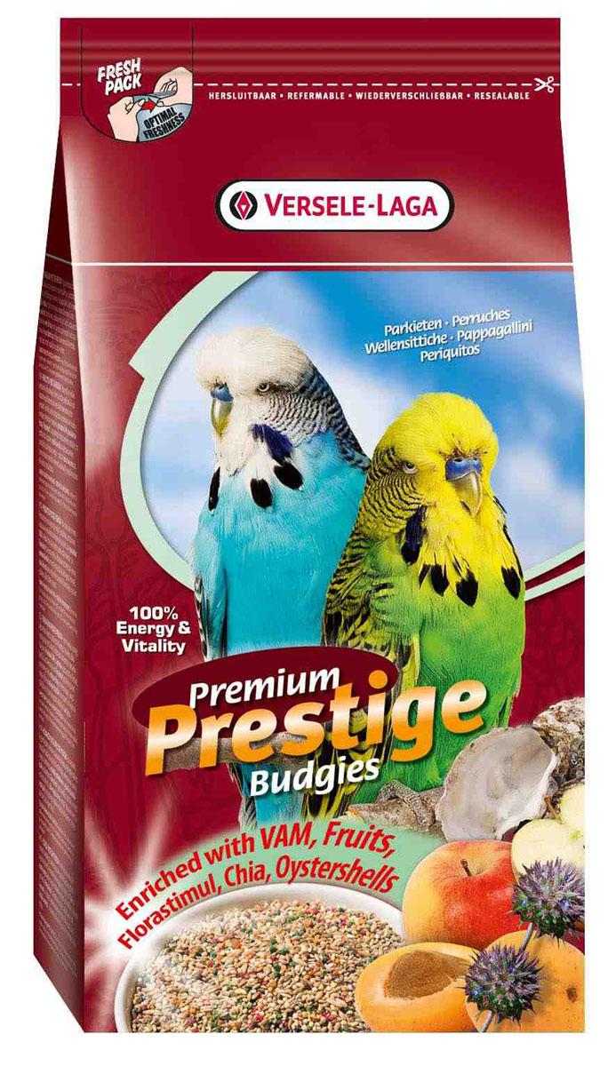 Корм для волнистых попугаев Versele-Laga Premium Prestige Budgie, 1 кг421688Зерновая смесь премиум качества Versele-Laga Premium Prestige Budgie имеет разнообразный и сбалансированный состав, специально разработанный для волнистых попугайчиков. Корм содержит гранулы ВАМ и фруктовые гранулы, богатые витаминами, аминокислотами, минералами, флорастимул для оптимального пищеварения, семена чии как дополнительный источник омега-3 жирных кислот, а также измельченные раковины устриц для отличной работы мускулатуры желудка и правильного баланса кальция/фосфора. Versele-Laga поддерживает фонд Loro Parque Fundacion в стремлении сохранить вымирающие виды птиц и их среду обитания. Приобретая данную продукцию, вы помогаете фонду Loro Parque Fundacion защищать природу. Указания к использованию: В зависимости от вида и возраста птицы ежедневный рацион семян может сильно варьироваться. Поэтому сначала предложите птице большую порцию, и спустя некоторое время вы сможете точно определить ежедневный рацион. Обновляйте корм и...