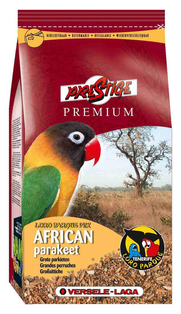 Корм для средних попугаев Versele-Laga African Parakeet Loro Parque Mix, 1 кг421960Корм для средних попугаев Versele-Laga Prestige Premium African Parakeet Loro Parque Mix изготавливается только из высококачественных семян, которыми этот вид птиц питается в природе. Смесь представляет собой полноценный корм, обогащенный гранулами VAM (витамины, аминокислоты и минералы) для поддержания превосходного здоровья попугаев. Эта адаптированная специально для африканских средних попугаев смесь была разработана совместно с группой ученых из заповедника Loro Parque (остров Тенерифе), где она успешно используется в качестве основного корма для неразлучников и других средних попугаев африканских видов. Коллекция Loro Parque включает в себя 3 тысячи попугаевых и представляет собой самую большую коллекцию попугаев в мире. Суточная норма кормления: указана на упаковке. Птица должна иметь постоянный доступ к свежей чистой питьевой воде. Давайте корм только комнатной температуры. Корм следует хранить в сухом прохладном месте в упаковке...