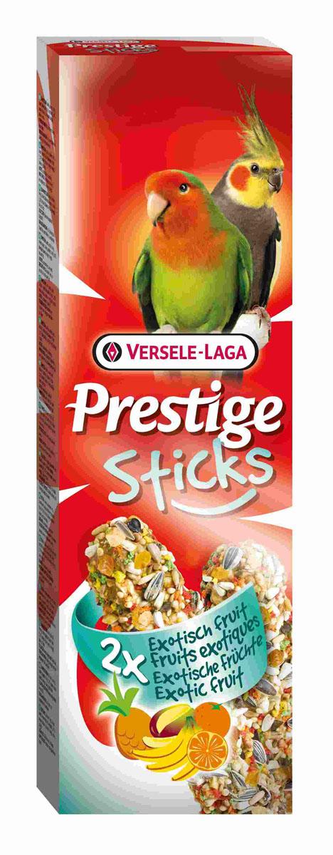 Лакомство Versele-Laga для средних попугаев, палочки с экзотическими фруктами, 2х70 г422312Лакомство Versele-Laga представляет собой две запеченные палочки с ананасом, бананом, апельсином, манго и другими полезными ингредиентами для средних попугаев. Благодаря этому экзотическому празднику ваша птица насладится кулинарными изысками. Для скуки не останется ни единого шанса. Состав: семена, зерновые, мед, различные сахара, пекарские продукты, фрукты (1,7%; ананас, банан, апельсин, манго), масла и жиры, консерванты, красители. Вес: 2х70 г. Товар сертифицирован.