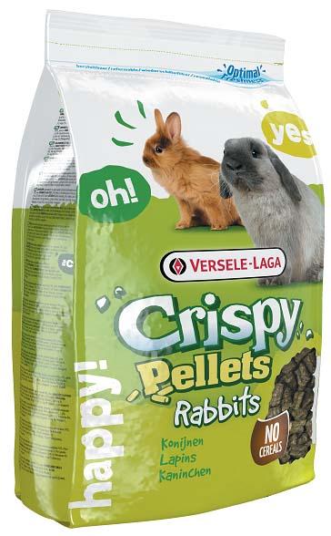Корм гранулированный для кроликов Versele-Laga Crispy Pellets Rabbits, 2 кг461150Versele-Laga Crispy Pellets Rabbits - основной полнорационный гранулированный корм для кроликов. Специальная форма гранул стимулирует инстинкт жевания, а дополнительное содержание клетчатки благоприятно влияет на здоровье зубов питомца. Корм содержит питательные вещества, необходимые вашему питомцу для здоровой и активной жизни, а также предотвращает селективное кормовое поведение. Без злаков. Состав: продукты растительного происхождения, экстракты растительных белков, семена, минералы, FOS, юкки. Основной анализ: белки 15%, жир 2,5%, сырая клетчатка 20,5%, сырая зола 7,5%, кальций 1%, фосфор 0,5%. Добавки на кг: витамин А 10000 МЕ, витамин D3 1200 МЕ, витамин Е 80 мг, витамин С 250 мг, железо 100 мг, йод 2 мг, медь 10 мг, марганец 75 мг, цинк 70 мг, селен 0,2 мг, антиоксиданты. Вес: 2 кг. Товар сертифицирован.