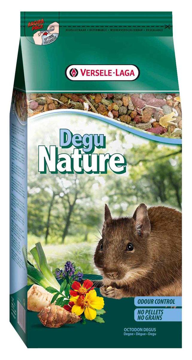 Корм для дегу Versele-Laga Degu Nature, 750 г461362Versele-Laga Degu Nature - это полноценный основной корм для дегу, разработанный в соответствии с их пищевыми потребностями. Это высококачественная смесь природных компонентов, которая содержит все необходимые для организма питательные вещества, витамины, минералы и аминокислоты, необходимые для жизнерадостной и здоровой жизни вашего питомца. Versele-Laga Degu Nature содержит дополнительное количество клетчатки, трав, овощей и добавок, важных для здоровья: обеспечивает превосходное пищеварение, гигиену полости рта, сияющую шерсть и великолепное здоровье. Широкое разнообразие ингредиентов гарантирует превосходный вкус и усвояемость. Не содержит прессованных гранул, злаков и сахара! Указания к использованию Рекомендуемая дневная порция для дегу составляет 30 грамм. Обеспечивайте вашему питомцу свежий корм и питьевую воду ежедневно. Также предоставьте достаточное количество сена. Состав: продукты растительного происхождения, овощи,...