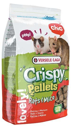 Корм гранулированный для крыс и мышей Versele-Laga Crispy Pellets, 1 кг461508Вкусный и богатый протеинами корм Versele-Laga Crispy Pellets Rats & Mice для крыс и мышей - это полноценный корм в форме крупных гранул, богатых злаками, которые надолго займут вашего питомца. Формула корма поможет избежать выборочного питания у зверьков. Благодаря содержанию гранул Happy & Healthy корм имеет все необходимые нутриенты для долгой и здоровой жизни вашей крысы или мыши. Специальная форма гранул и повышенное содержание клетчатки поддержат здоровье зубов и кишечника, а экстракт юкки нейтрализует неприятный запах в клетке питомца. Состав: зерна, экстракт растительного протеина, субпродукты растительного происхождения, травы, семена, минералы, фруктоолигосахариды, экстракт юкки. Основной анализ: протеин 20%, жир 4%, клетчатка 5,5%, зола 6,5%, кальций 1,1%, фосфор 0,8%. Добавки: витамин A 17000 МЕ, витамин D3 2000 МЕ, витамин E 135 мг, витамин C 100 мг, железо 170 мг, йод 3,6 мг, медь 17 мг, марганец 128 мг, цинк 120...