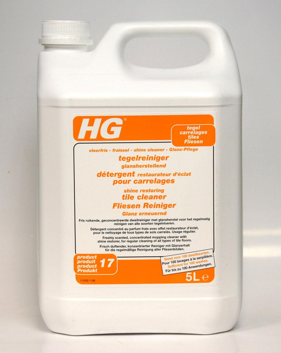 Моющее средство для напольной плитки HG, 5 л115500100Средство придает всем видам кафельного и каменного пола неповторимый блеск. Обладая свежим запахом, средство усиливает цвет покрытия и защищает пол от въевшихся пятен, значительно упрощая процесс уборки. Средство не скапливается на полу, т.к. обновляется при каждой уборке. очищает и защищает усиливает цвет и подчеркивает текстуру плитки, придавая атласный блеск для мытья всех видов каменного и кафельного пола Инструкция по применению: Разведите 50 мл (полколпачка) в 2,5 л теплой воды. Вымойте пол (при необходимости с небольшим нажимом). Регулярно прополаскивайте салфетку для мытья пола в отдельном ведре с чистой водой. Меняйте воду по мере загрязнения. Не промывайте пол водой после обработки во избежание удаления слоя блеска. Дайте полу полностью высохнуть. Меры предосторожности: 2 - Хранить в недоступном для детей месте. S46 - В случае проглатывания немедленно обратиться за медицинской помощью и показать эту упаковку или этикетку. Содержит...