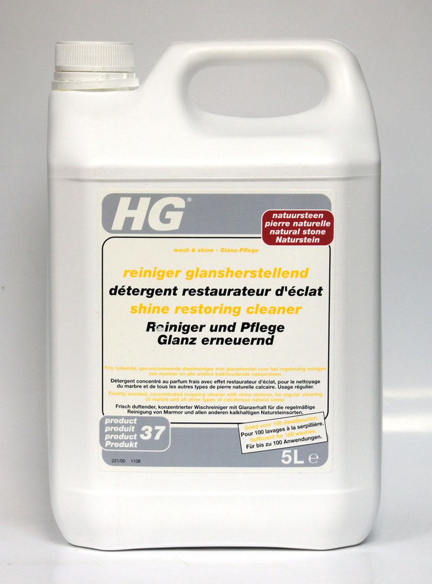 Моющее средство для мрамора и натурального камня HG, 5 л221500100Концентрированное средство обладает свежим ароматом. Моющее средство для мрамора и натурального камня HG разработано для регулярной очистки и придания блеска напольным покрытиям из мрамора, травертина, терраццо, гранита и другого известнякового натурального камня. Продукт можно применять как на необработанных поверхностях, так и на предварительно обработанных. Инструкция по применению: растворите 50 мл средства в 2,5 л теплой воды. Протрите пол хорошо отжатой шваброй или салфеткой. Регулярно промывайте салфетку для мытья пола в отдельном ведре с чистой водой, затем смачивайте ее в растворе. Не промывайте пол водой после очистки. Меры предосторожности: S2 - Хранить в недоступном для детей месте. S46 - В случае проглатывания немедленно обратиться за медицинской помощью и показать эту упаковку или этикетку. Может вызвать аллекргические реакции. Беречь от замерзания. Содержит триизобутилфосфат.