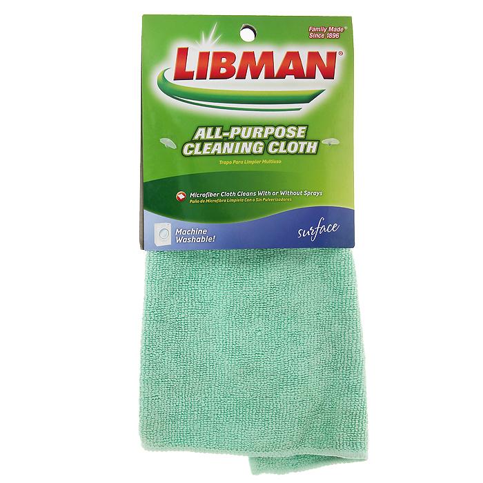 Салфетка универсальная Libman, цвет: зеленый, 30 х 30 см 236236Универсальная салфетка Libman изготовлена из микрофибры зеленого цвета. Подходит для уборки различных поверхностей таких, как мебель, оргтехника, домашняя утварь.