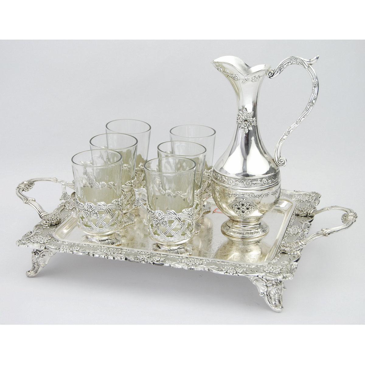 Набор чайный Marquis Роза, 8 предметов