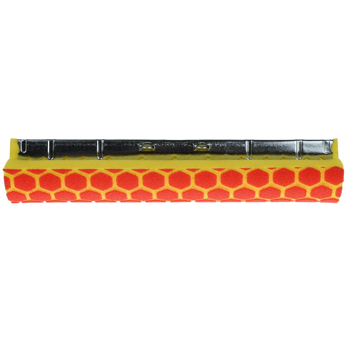 Губка сменная Libman Nitty Gritty, длина 30 см00956Сменная губка Libman Nitty Gritty для роликовой швабры выполнена из износоустойчивого полиэстера с объемным рисунком соты для лучшего удержания загрязнений. Губка присоединена к надежному металлическому креплению для швабры. С губкой Libman Nitty Gritty уборка станет эффективнее и приятнее. Характеристики: Материал: полиэстер, металл. Цвет: желтый, красный. Длина губки: 30 см. Ширина губки: 8 см. Размер упаковки: 30 см x 8 см x 6 см. Артикул: 00956.