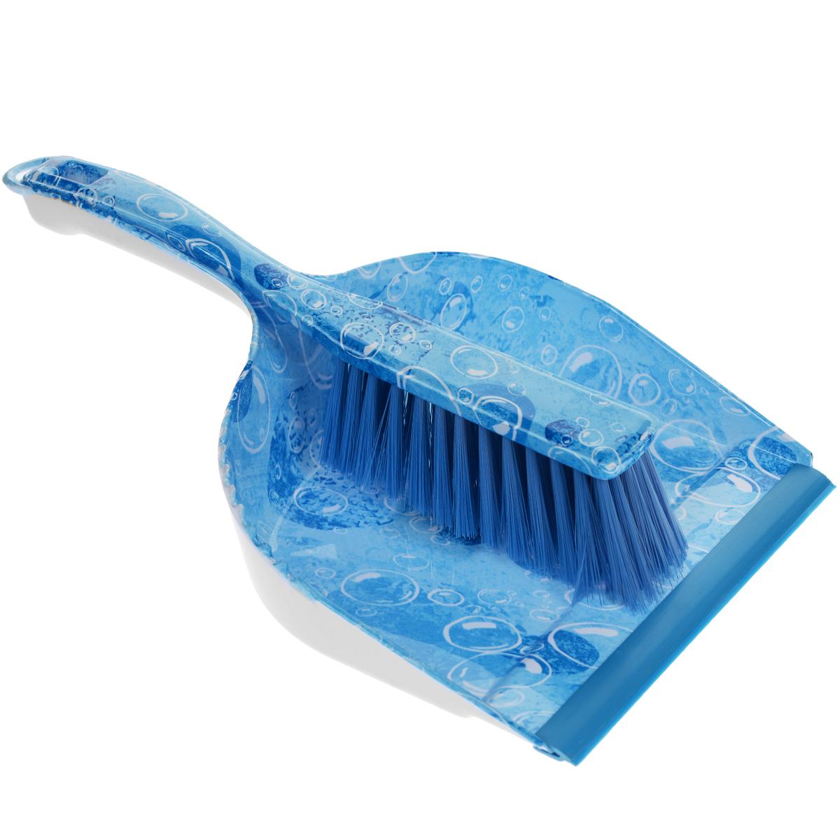 Совок для мусора с щеткой Фэйт Аква69002Совок для мусора с щеткой Аква предназначен для различных видов хозяйственных работ, чистки горизонтальных поверхностей из разных материалов. Сметка удобно крепится к ручке совка.