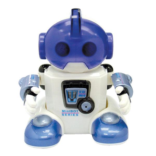 Silverlit Интерактивная игрушка Робот Jabber88309SИнтерактивная игрушка Робот Jabber понравится вашему ребенку и станет его любимой игрушкой. Робот выполнен из безопасного пластика белого и голубого цветов и оснащен множеством функций. Jabber умеет мигать глазками, обладает подвижными ручками и ножками. Благодаря встроенным датчикам робот реагирует на хлопки в ладоши (1 хлопок - движение вперед, 2 хлопка - вправо, 3 хлопка - налево), обходит препятствия и забавно танцует, если открыть его шлем. Также Jabber может общаться с другими роботами. Все движения игрушки сопровождаются световыми и звуковыми эффектами. В комплект входит инструкция по эксплуатации робота на русском языке. Ваш ребенок сможет часами играть с роботом, придумывая разные истории. Порадуйте его таким замечательным подарком! Необходимо докупить 4 батареи мощностью 1,5V типа ААА (не входят в комплект).