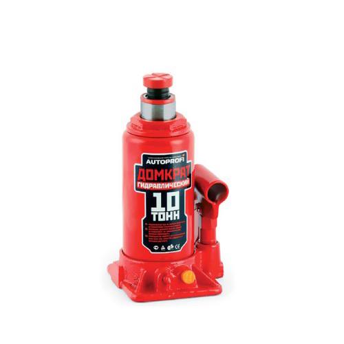 Домкрат бутылочный Автопрофи DG-10, 10 т