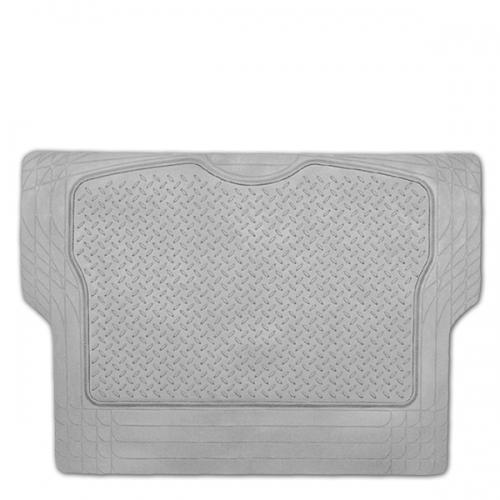 Коврик в багажник Автопрофи / Autoprofi Luxury, универсальный, морозостойкий, цвет: серый, 126,5 см х 80 смTER-300M GYУниверсальный коврик для багажника Автопрофи / Autoprofi Luxury предназначен для автомобилей классов B и C. Он изготовлен из морозостойкого термопласта-эластомера, который сохраняет эластичность до температуры -50 °С. Данный материал также отличается отсутствием характерного для резины запаха и устойчив к воздействию агрессивных веществ, таких как масло, топливо или химические реагенты. Коврик обладает высокой износостойкостью и небольшим весом, благодаря чему его несложно вытащить из багажника, очистить и уложить обратно. Насечки для разреза на поверхности коврика помогают корректировать размер и форму изделия, адаптируя его под профиль багажника.