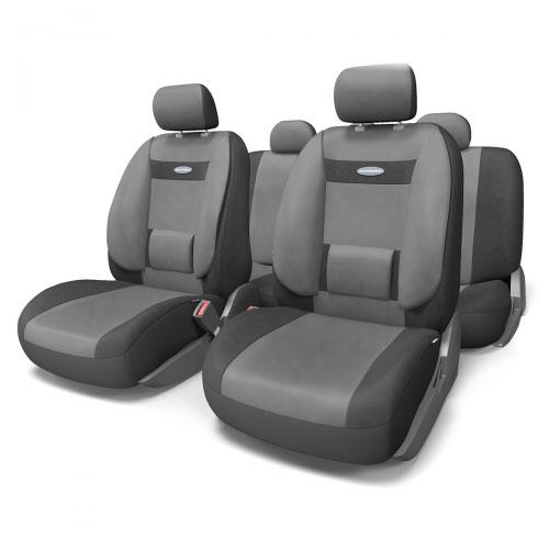 "����� �������������� ���������� Autoprofi ""Comfort"", �����, ����: ������, �����-�����, 11 ���������. ������ M. COM-1105 BK/D. GY (M)"