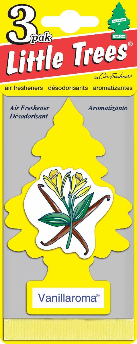 Комплект ароматизаторов елочка Аромат ванили, 3 штU3S-32005Оригинальный ароматизатор сделан из высококапилярного качественного картона - что позволяет долго сохранять аромат и насыщенность красок изображения. Уникален по эффективности действия, насыщенности и стойкости запаха Повесьте ароматизатор в любом удобном месте - в салоне автомобиля, дома или в офисе - и получайте удовольствие! Характеристики: Материал: 100% спрессованная целлюлоза, полимеры, не токсичные отдушки. Размер упаковки: 19 см х 7,5 см х 1 см. Артикул: U3S-32005.