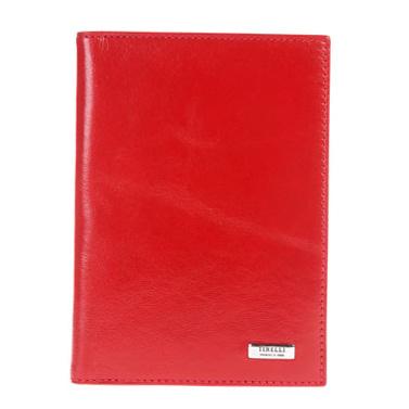 Бумажник водителя Tirelli Классик, цвет: красный. 15-302-0615-302-06Бумажник водителя Tirelli Классик изготовлен из натуральной кожи красного цвета с матовой текстурой. Внутри содержится съемный блок из 6 прозрачных пластиковых файлов разного размера для автодокументов. Стильный бумажник не только защитит ваши документы, но и станет стильным аксессуаром, подчеркивающим ваш образ. Изделие упаковано в подарочную коробку синего цвета с логотипом фирмы Tirelli.