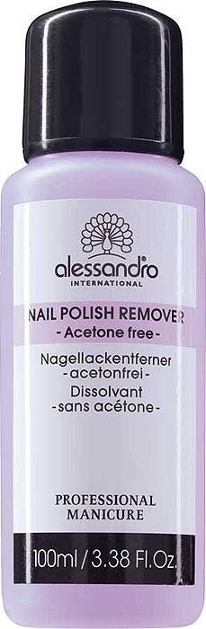 Alessandro Жидкость для снятия лака Nail Polish Remover, без ацетона, 100 мл