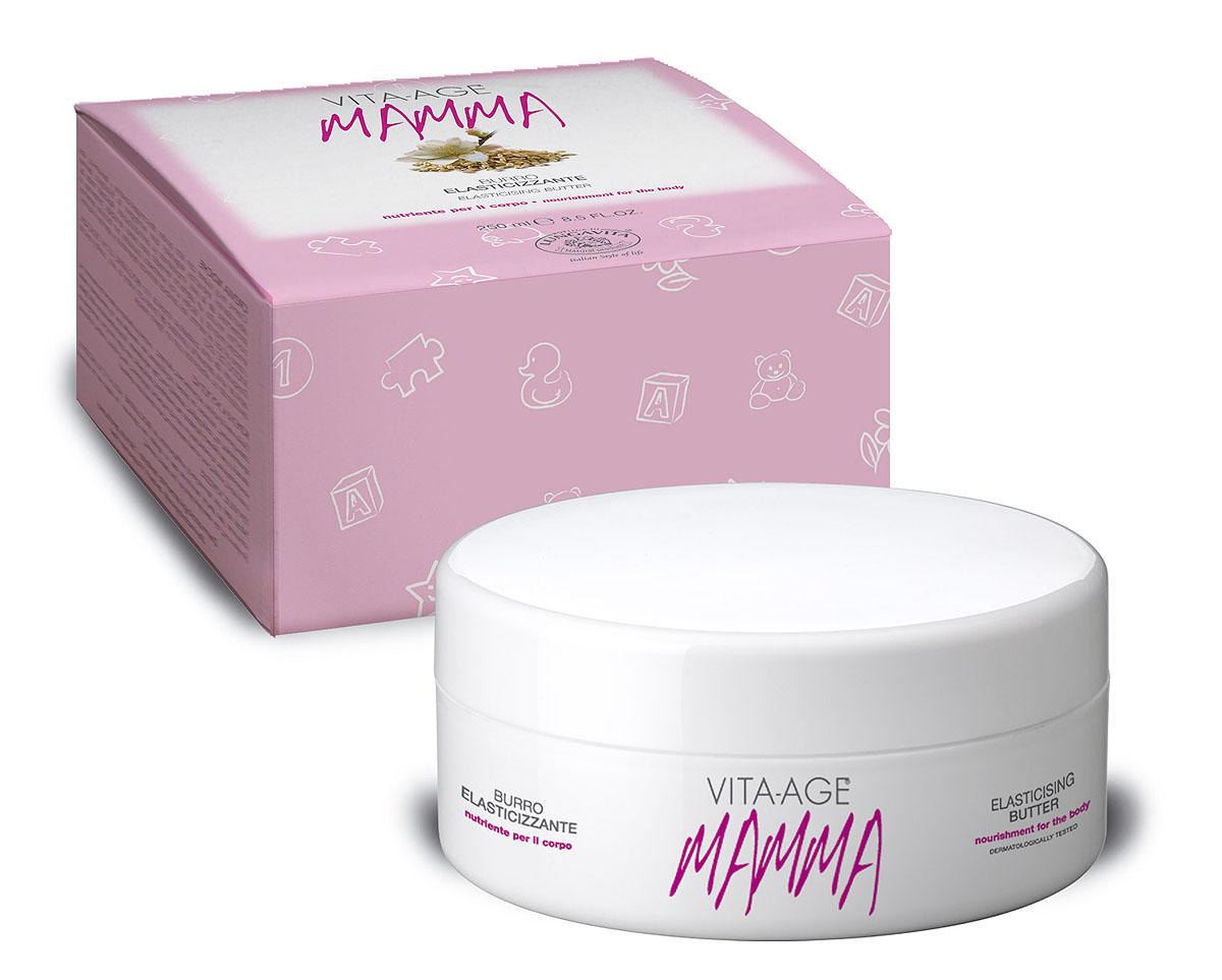 """Bottega Di Lungavita Крем-масло для тела """"Vita-Age Mamma"""", питательное, увлажняющее, 250 мл"""