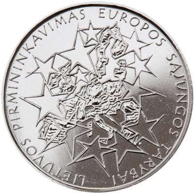 Монета номиналом 1 лит Председательство Литвы в Совете Европы. Литва, 2013 годF30 BLUEМонета номиналом 1 лит Председательство Литвы в Совете Европы. Литва, 2013 год Диаметр 2,2 см. Сохранность UNC (без обращения).