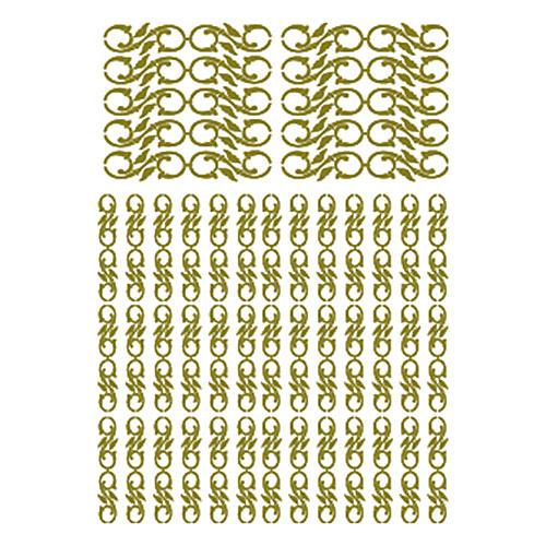 Трансфер универсальный Орнамент из завитушек, рельефный, цвет: золотой, 17 х 25 см CD-110CD-110Трансфер универсальный рельефный Орнамент из завитушек предназначен для имитации декоративной росписи при оформлении интерьера. Добавьте оригинальность вашему интерьеру с помощью яркого изображения. Оригинальное исполнение добавит изысканности в дизайн. Трансфер прост в применении. В комплекте подробная инструкция.