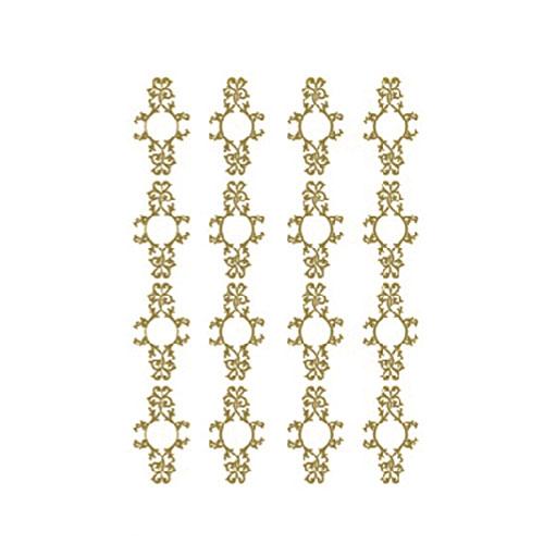 Трансфер универсальный Арабеска, цвет: золотой, 17 х 25 см CD-310CD-310Трансфер универсальный Арабеска предназначен для имитации декоративной росписи при оформлении интерьера. Добавьте оригинальность вашему интерьеру с помощью яркого изображения. Оригинальное исполнение добавит изысканности в дизайн. Трансфер прост в применении. В комплекте подробная инструкция.