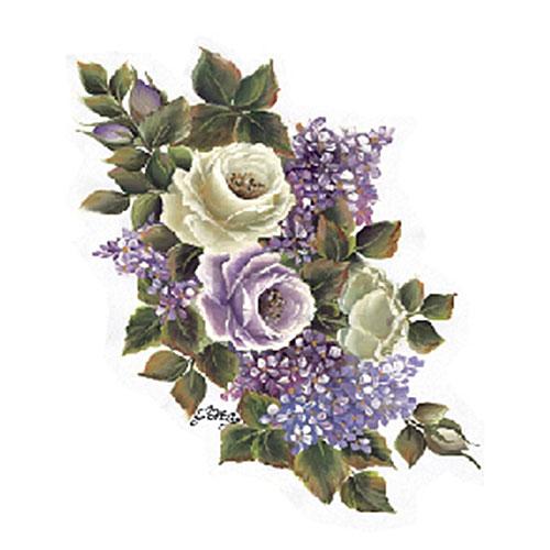 Трансфер универсальный Бело-лиловые розы и сирень большие, 17 х 25 см G-95G-95Трансфер универсальный Бело-лиловые розы и сирень большие предназначен для имитации декоративной росписи при оформлении интерьера. Добавьте оригинальность вашему интерьеру с помощью яркого изображения. Оригинальное исполнение добавит изысканности в дизайн. Трансфер прост в применении. В комплекте подробная инструкция.