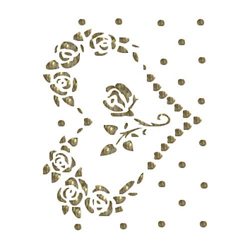 Трансфер универсальный Сердечко с розами, 17 см х 25 см. SM-025SM-025Трансфер глиттер Сердечко с розами предназначен для имитации декоративной росписи при оформлении интерьера. Добавьте оригинальность вашему интерьеру с помощью яркого изображения. Оригинальное исполнение добавит изысканности в дизайн. Трансфер прост в применении. В комплекте подробная инструкция.