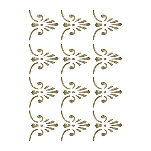 Трансфер универсальный Бордюрные элементы, 17 см х 25 см. SM-036SM-036Трансфер глиттер Бордюрные элементы предназначен для имитации декоративной росписи при оформлении интерьера. Добавьте оригинальность вашему интерьеру с помощью яркого изображения. Оригинальное исполнение добавит изысканности в дизайн. Трансфер прост в применении. В комплекте подробная инструкция.