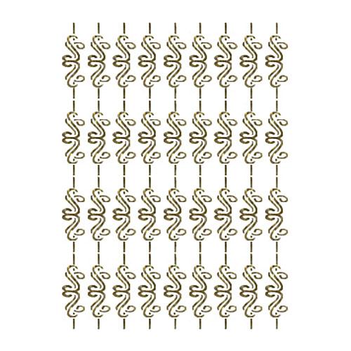 Трансфер универсальный Бордюр завиток с полоской, 25 см х 35 см. SM-083SM-083Трансфер глиттер Бордюр завиток с полоской предназначен для имитации декоративной росписи при оформлении интерьера. Добавьте оригинальность вашему интерьеру с помощью яркого изображения. Оригинальное исполнение добавит изысканности в дизайн. Трансфер прост в применении. В комплекте подробная инструкция.