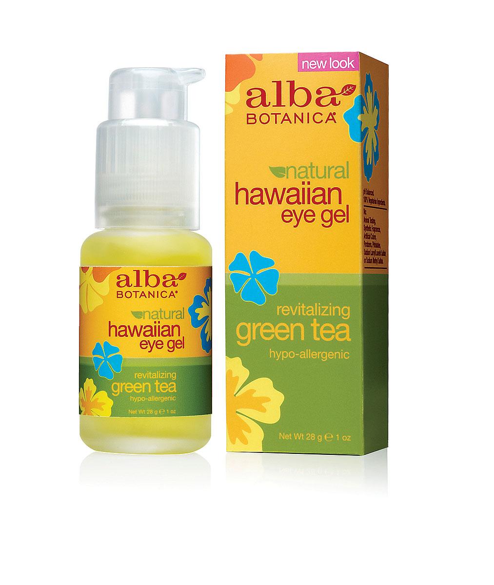 Alba Botanica Гель с зеленым чаем, для кожи вокруг глаз, 28 гAL00816Легкое, гелевое средство Alba Botanica для кожи вокруг глаз предотвращает старение. Содержит антиоксиданты и увлажняющие компоненты, защищающие тонкую нежную кожу. Успокаивает, снимает покраснения и увеличивает эластичность кожи. Характеристики: Вес: 28 г. Артикул: AL00816. Производитель: США. Товар сертифицирован. Состав: вода, сок алое вера, глицерин, экстракт зеленого чая, экстракт огурца, аллантоин, гидролизированый протеин сои, магнезиум аскорбил фосфат, пантенол, рибофлавин, карбомер, экстракт папаи, экстракт ромашки, экстракт ламинарии, экстракт спирулины, экстракт авапухи, феноксиэтанол, этилгексилглицерин.
