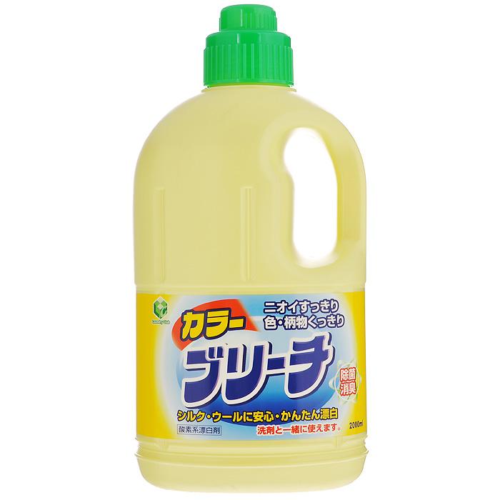 Кислородный отбеливатель для цветного и белого белья Daiichi, 2 л321516Кислородный отбеливатель для цветного и белого белья Daiichi обеспечивает простое и безопасное отбеливание изделий из шелка, шерсти и смешанных тканей. Отбеливатель не содержит хлора, поэтому его без опасений можно применять не только для белых, но и для цветных тканей. Обеспечивает простое и безопасное отбеливание, при этом цвет и узор на одежде становятся еще ярче! Используется для удаления пятен (от кофе, чая, травы, крови, пота), отбеливания, устранения запаха и дезинфицирования. Подходит для стирки и отбеливания детского белья и одежды новорожденных. Характеристики: Объем: 2 л. Размер упаковки: 13 см х 9 см х 29 см. Артикул: 321516. Товар сертифицирован.