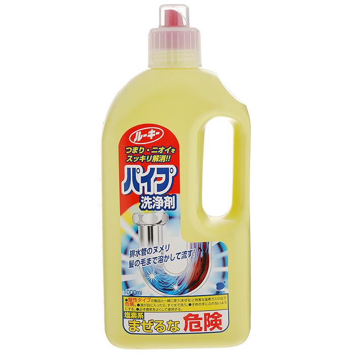Средство для прочистки труб Daiichi, 1 л687162Средство Daiichi применяется для прочистки труб на кухнях, в умывальниках и в ванных комнатах. Прекрасно удаляет все жировые и грязевые засоры в сливных трубах, устраняя при этом неприятные запахи. Имеет уникальную формулу, позволяющую растворять скапливающиеся волосы и слизь на дне и стенках стоков. Благодаря биологически активным компонентам в составе жидкости, данное средство рекомендовано даже для изношенных и пластиковых труб.