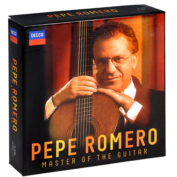 Pepe Romero. Master Of The Guitar (11 CD)