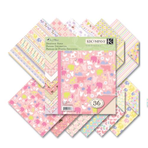 Набор бумаги для скрапбукинга K&Company Для девочки, 21,5 х 21,5 см, 36 листовKCO-623187Набор бумаги для скрапбукинга K&Company позволит создать красивый альбом, фоторамку или открытку ручной работы, оформить подарок или аппликацию. Набор включает 36 листов из плотной бумаги с двухсторонней печатью, всего 12 видов. Бумага не содержит лигнин и кислоты. Скрапбукинг - это хобби, которое способно приносить массу приятных эмоций не только человеку, который этим занимается, но и его близким, друзьям, родным. Это невероятно увлекательное занятие, которое поможет вам сохранить наиболее памятные и яркие моменты вашей жизни, а также интересно оформить интерьер дома.