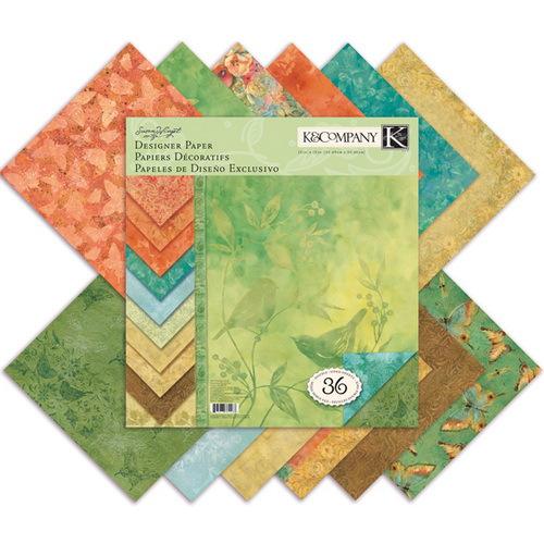 Набор бумаги для скрапбукинга K&Company Палитра. Секреты природы, 31 х 31 см, 36 листовKCO-30-389267Набор бумаги для скрапбукинга K&Company позволит создать красивый альбом, фоторамку или открытку ручной работы, оформить подарок или аппликацию. Набор включает 36 листов из плотной бумаги с двухсторонней печатью, всего 12 видов. Бумага не содержит лигнин и кислоты. Скрапбукинг - это хобби, которое способно приносить массу приятных эмоций не только человеку, который этим занимается, но и его близким, друзьям, родным. Это невероятно увлекательное занятие, которое поможет вам сохранить наиболее памятные и яркие моменты вашей жизни, а также интересно оформить интерьер дома.
