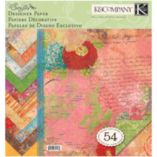 Набор бумаги для скрапбукинга K&Company Яркость. Парижский шик, 31 х 31 см, 54 листаKCO-625532Набор бумаги для скрапбукинга K&Company позволит создать красивый альбом, фоторамку или открытку ручной работы, оформить подарок или аппликацию. Набор включает 54 листа из плотной бумаги с двухсторонней печатью, всего 18 видов. Бумага не содержит лигнин и кислоты. Скрапбукинг - это хобби, которое способно приносить массу приятных эмоций не только человеку, который этим занимается, но и его близким, друзьям, родным. Это невероятно увлекательное занятие, которое поможет вам сохранить наиболее памятные и яркие моменты вашей жизни, а также интересно оформить интерьер дома.