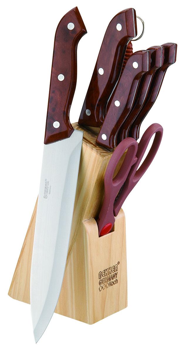 Набор кухонных ножей Bekker BK-121, 8 предметов