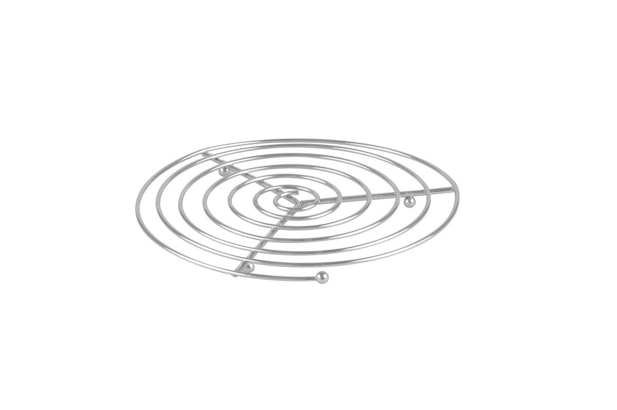 Подставка под горячее Bekker, диаметр 21 см. BK-3060BK-3060Круглая подставка под горячее Bekker изготовлена из нержавеющей стали в виде спирали. Изделие предназначено для защиты поверхности стола от высоких температур. Характеристики: Материал: нержавеющая сталь. Диаметр: 21 см. Производитель: Германия. Изготовитель: Китай. Артикул: BK-3060.