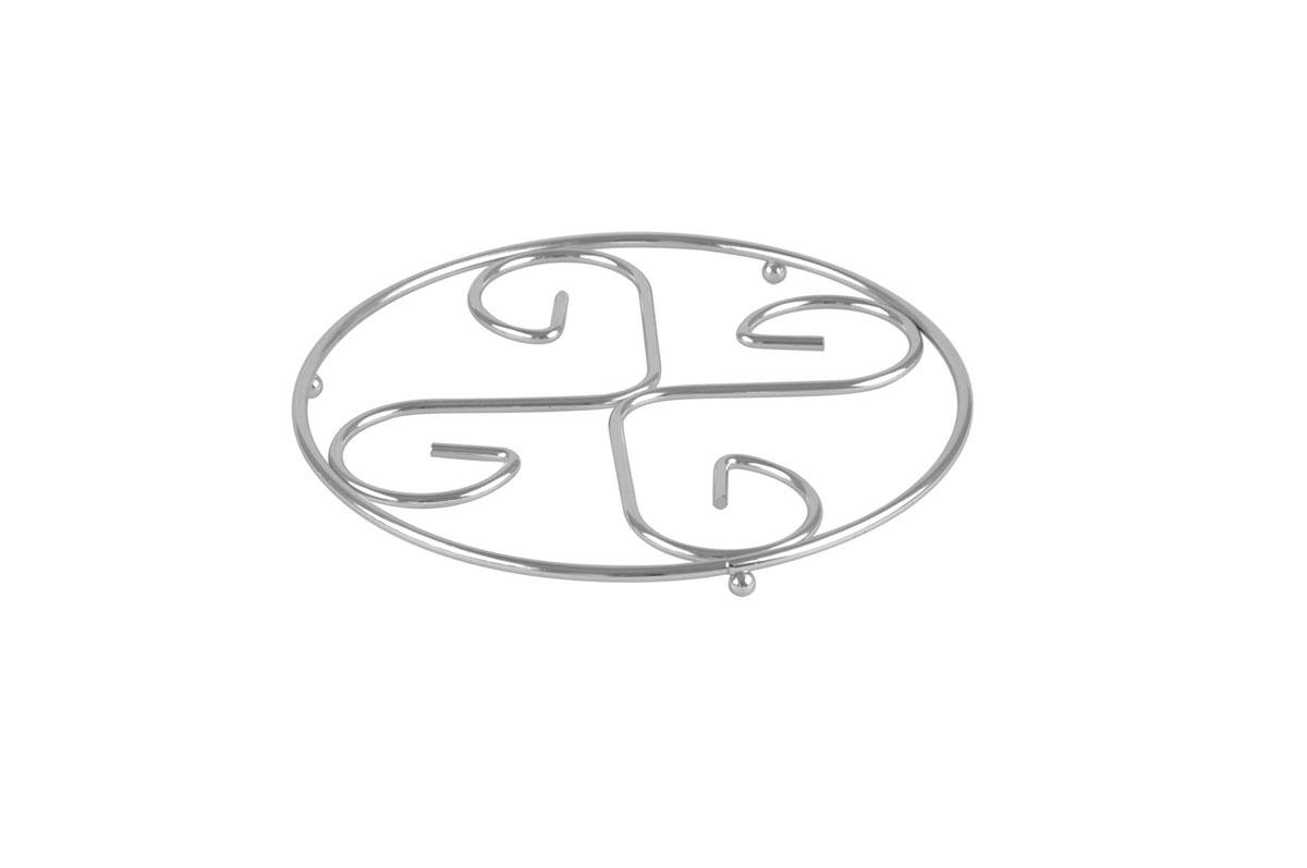 Подставка под горячее Bekker, диаметр 21 см. BK-3061BK-3061Круглая подставка под горячее Bekker изготовлена из нержавеющей стали. Изделие предназначено для защиты поверхности стола от высоких температур. Характеристики: Материал: нержавеющая сталь. Диаметр: 21 см. Производитель: Германия. Изготовитель: Китай. Артикул: BK-3061.